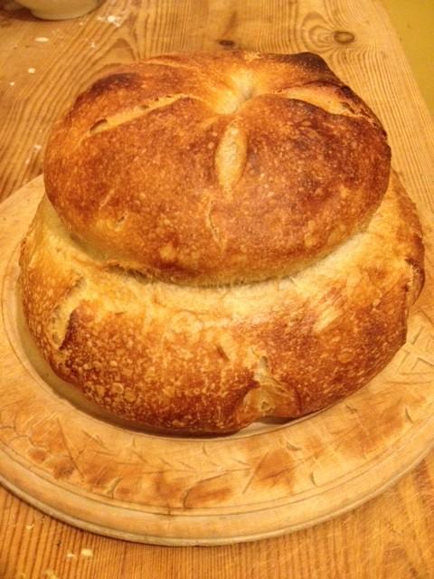 Sourdough Cottage Loaf
