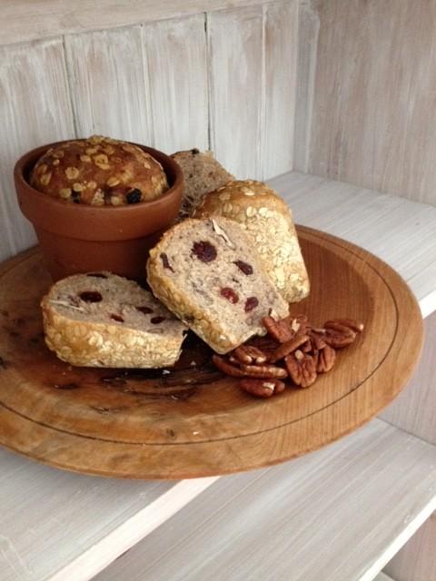 Pecan & Cranberry Bread