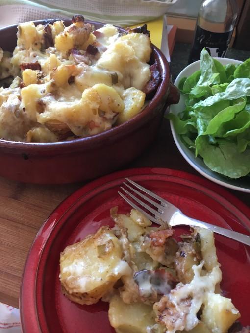 Tartiflette & Salad